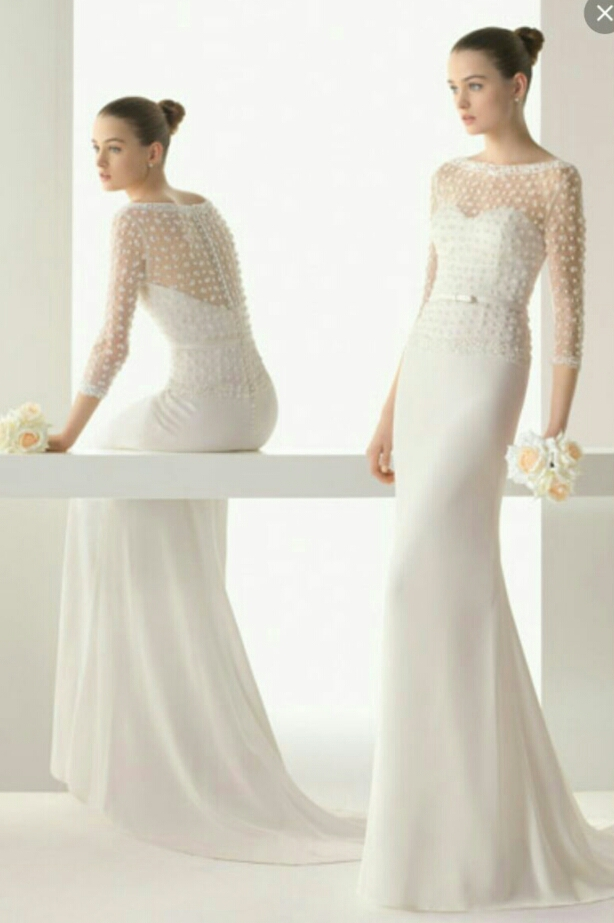 rosa clara wedding gown image