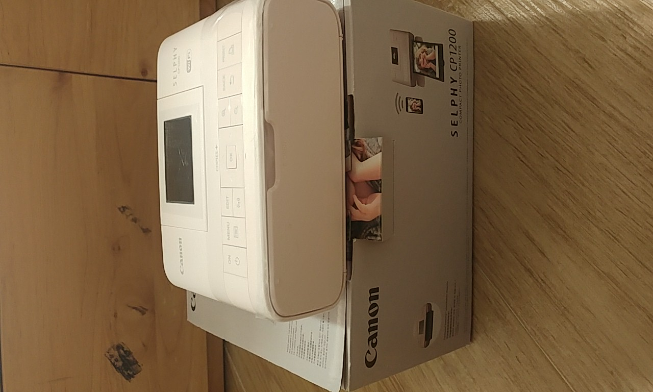 Canon Selphy CP1200 即印相片機 image