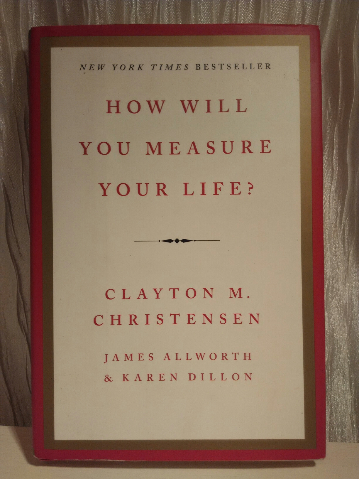 How will you measure your life? image