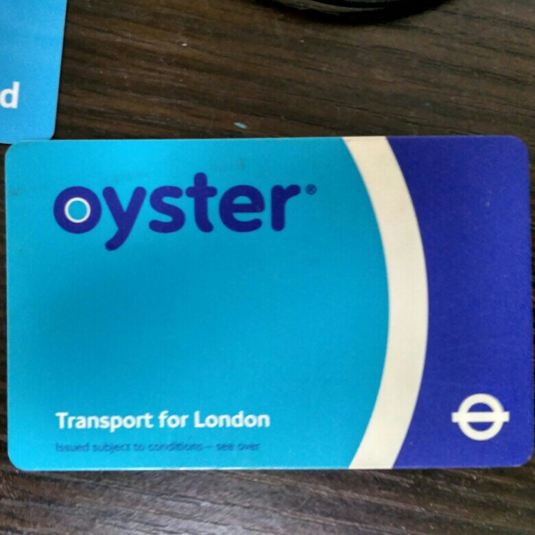 London oyster card image