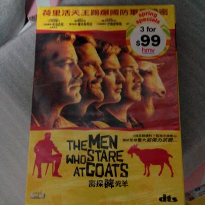 The Men who stare at Goats image