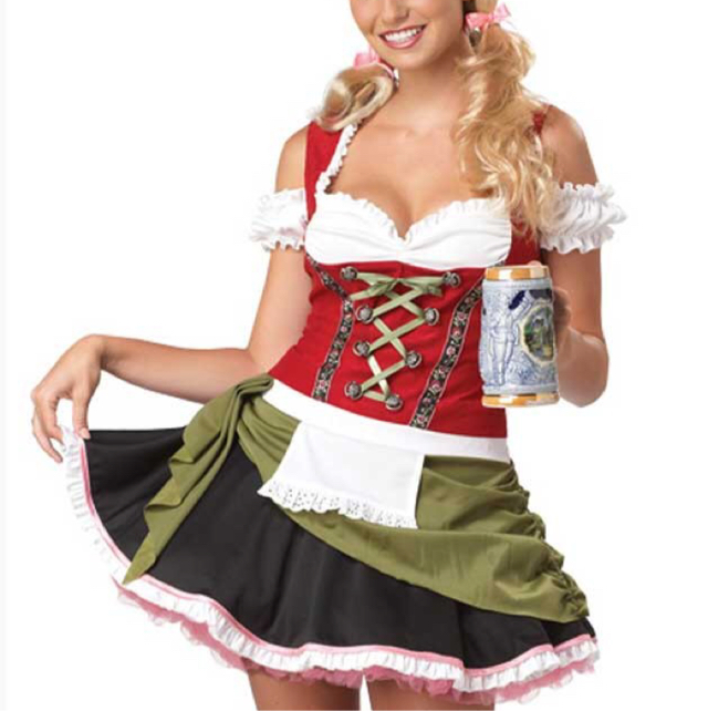 Party Costume - Bavarian Bar Maid image