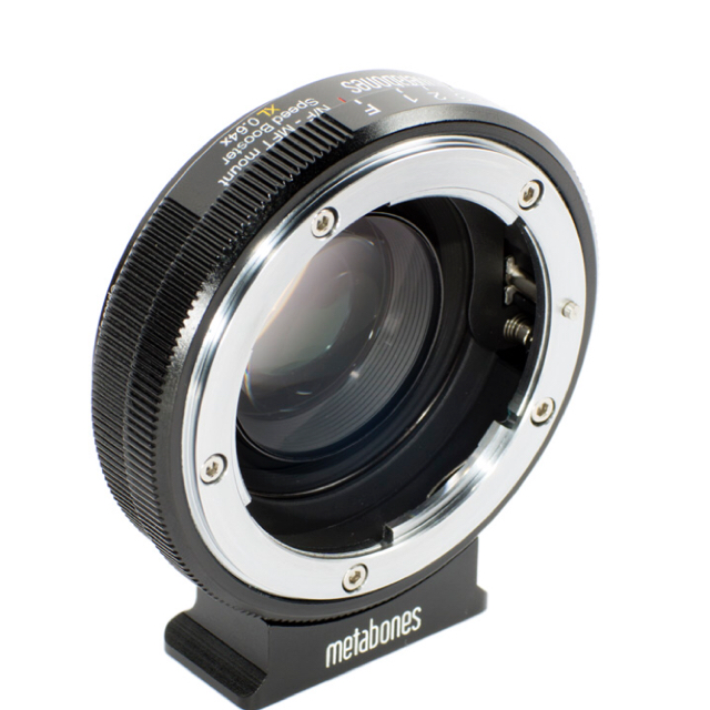 Metabones Speed Booster for MFT to Canon EF image
