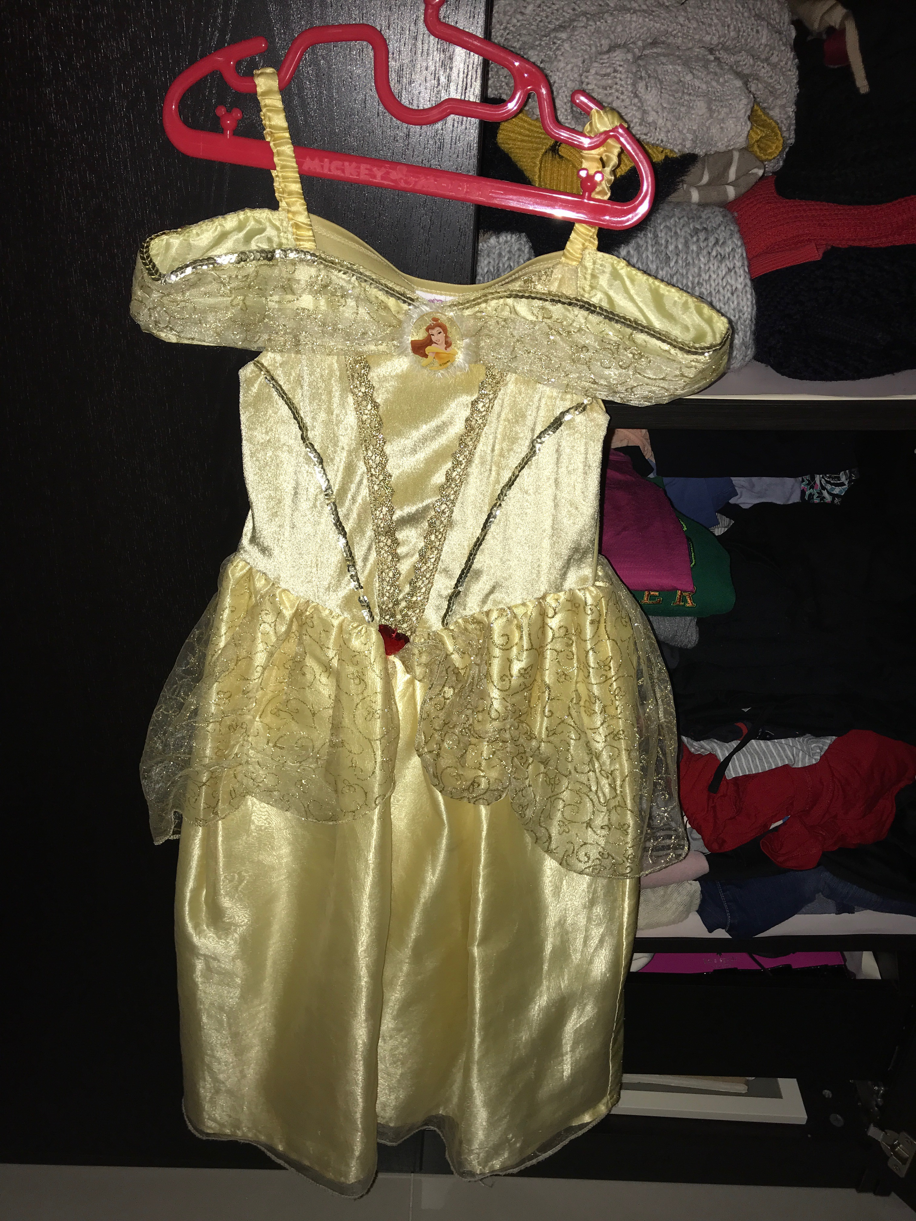 Two Princess dresses for the school drama image