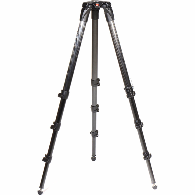 manfrotto 9 foot carbon tripod with bowl image