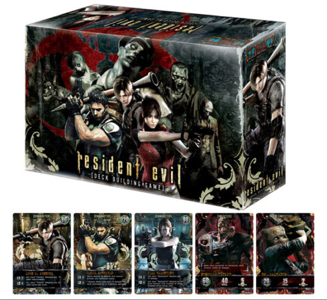 Resident Evil Deck-Building Game image