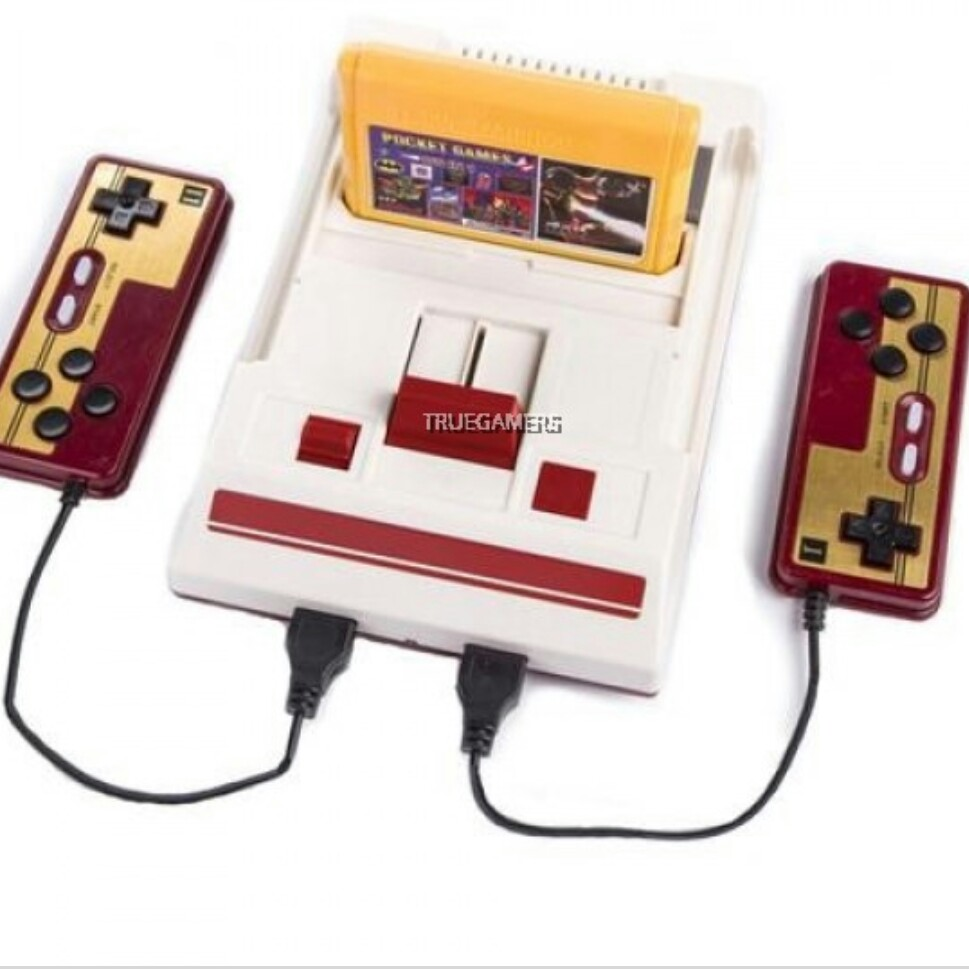 VINTAGE GAME CONSOLE FC COMPACT OLD SCHOOL GAMES image