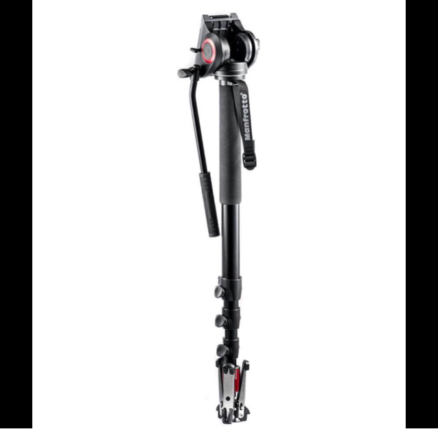Manfrotto MVMXPro500H with 501 Video Monopod image