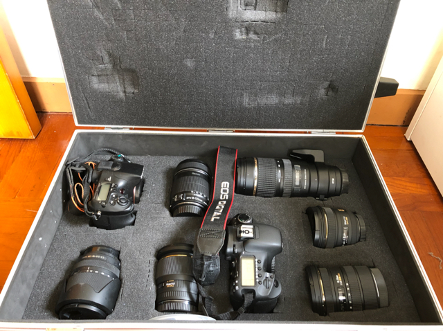 sony 77a , canon 7d and lens set  image