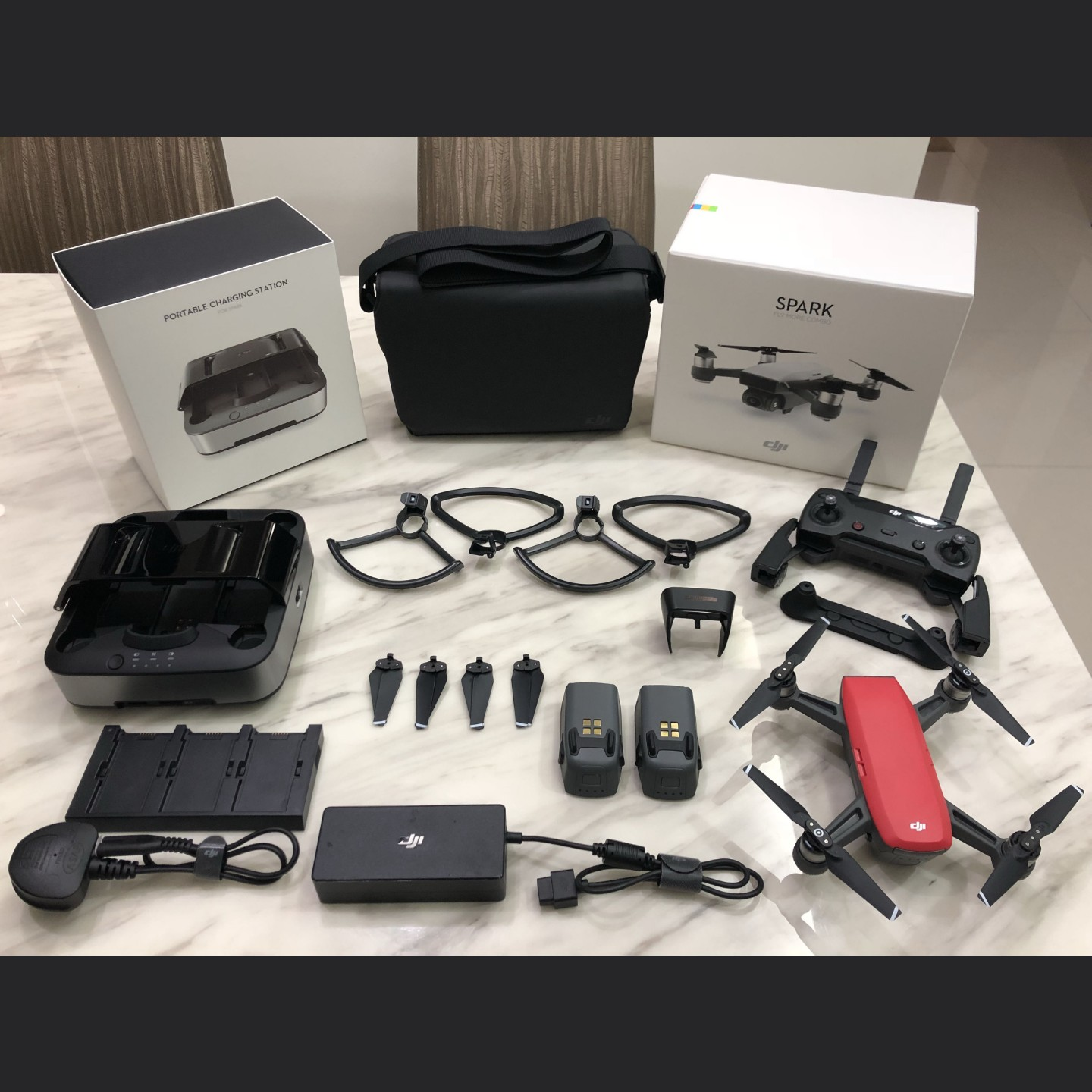 DJI spark flymore combo image