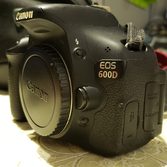 Canon 600D body image