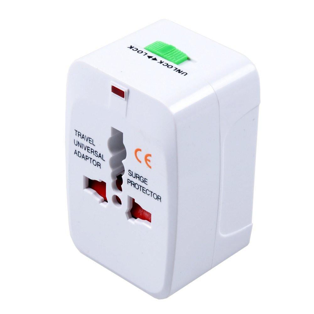 Universal Travel Adapter with USB port image