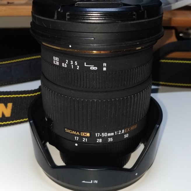 SIGMA 17-50mm 1:2.8 For Nikon image