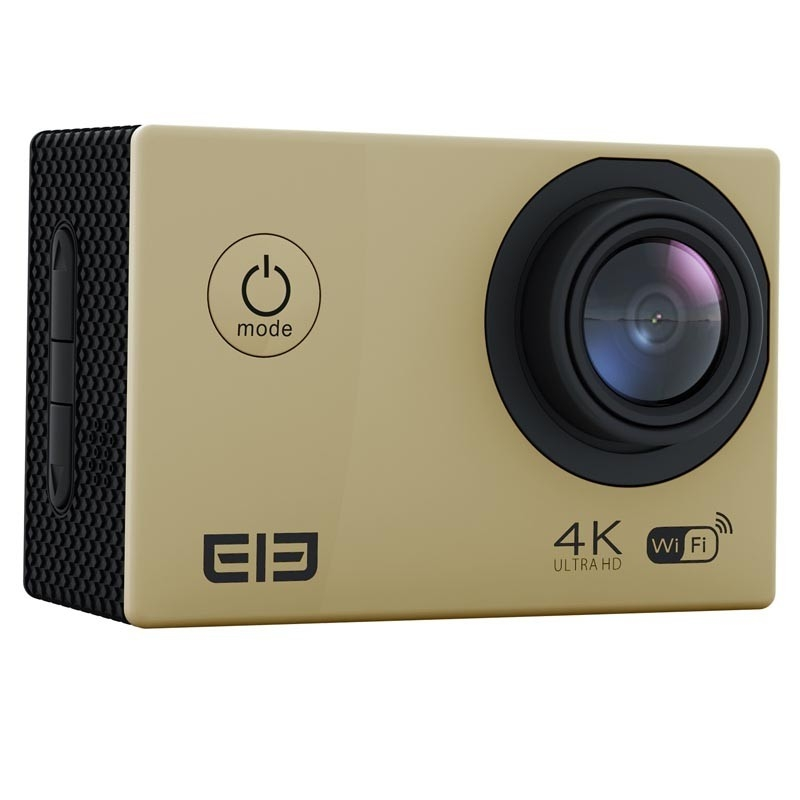 Elecam 4K action camera with mountings and accessories (Wifi, Waterproof) image