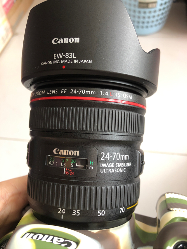 canon 24-70mm f4l is usm  image