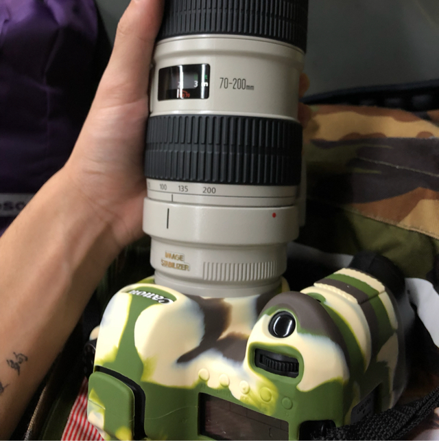 canon 70-200mm f2.8 L IS + 6d 1  image