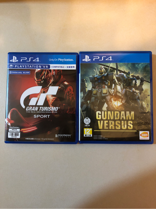 PS4連2隻games image