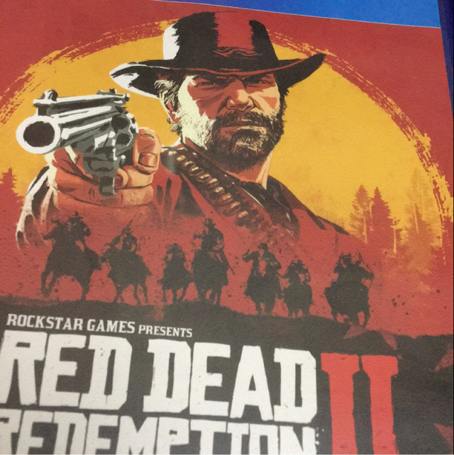 ps4 red dead redemption 2 遊戲光碟 image