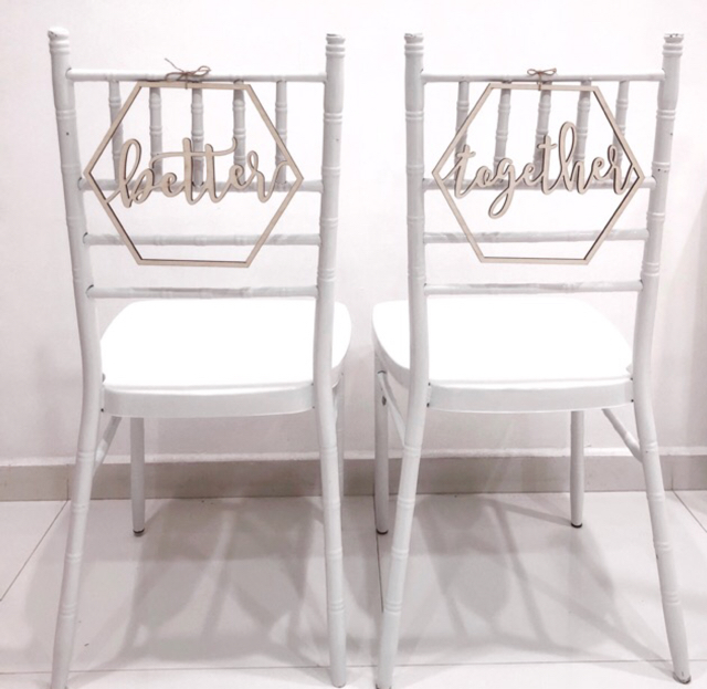 Tiffany Chairs for Solemnisation image