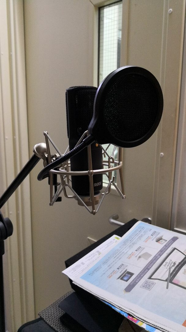 rode nt usb condenser microphone image