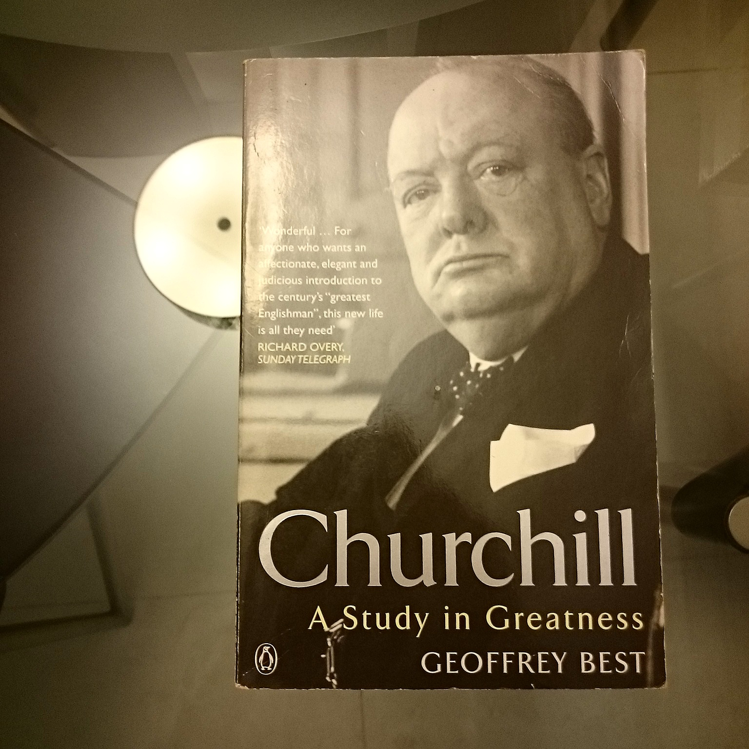 Churchill - A Study in Greatness image