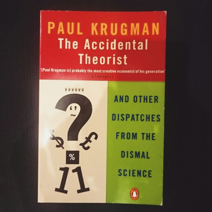 The Accidental Theorist by Paul Krugman image