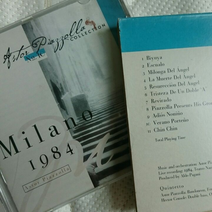 Astor Piazzolla collection - Milano 1984 (Live rec) image
