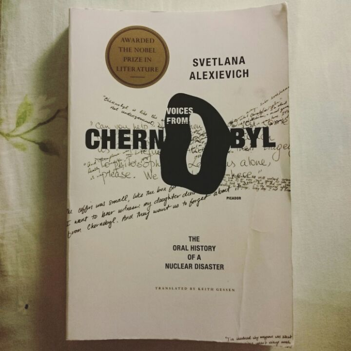 Voices from Chernobyl by Svetlana Alexievich (2015 Nobel Prize in Literature) image