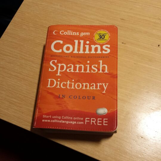 Collins Spanish dictionary image