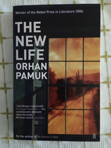 Book title: the new life, by orhan pamuk image