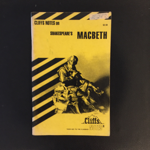 Cliffs Notes: Macbeth image