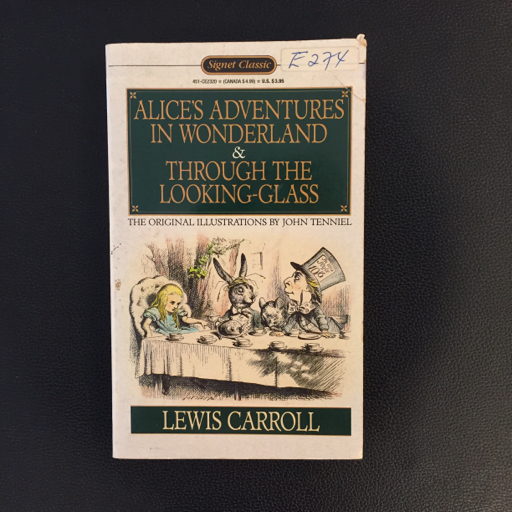 Alice's Adventures in Wonderland & Through The Looking Glass by Lewis Carroll image