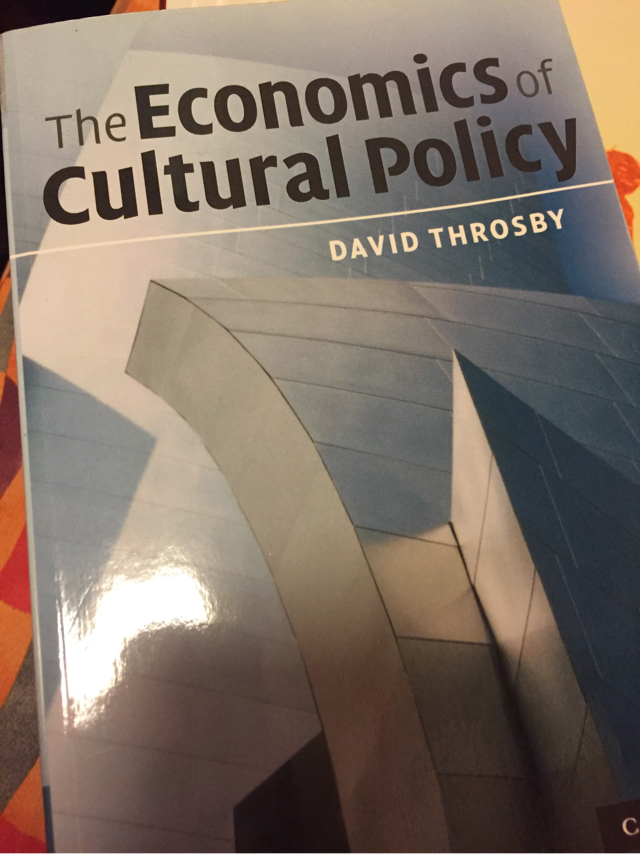 The Economics Of Cultural Policy image