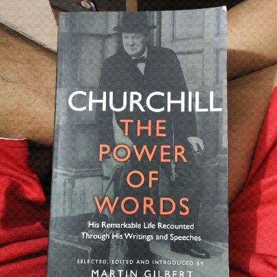 Churchill The Power of Words image
