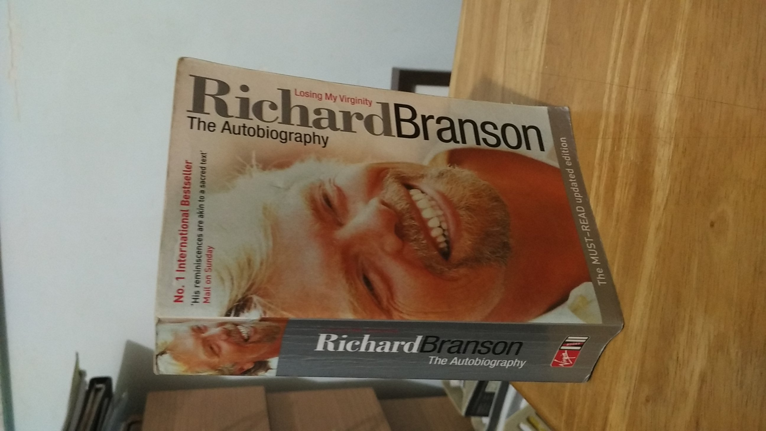 Losing My Virginity - Richard Branson The Autobiography image