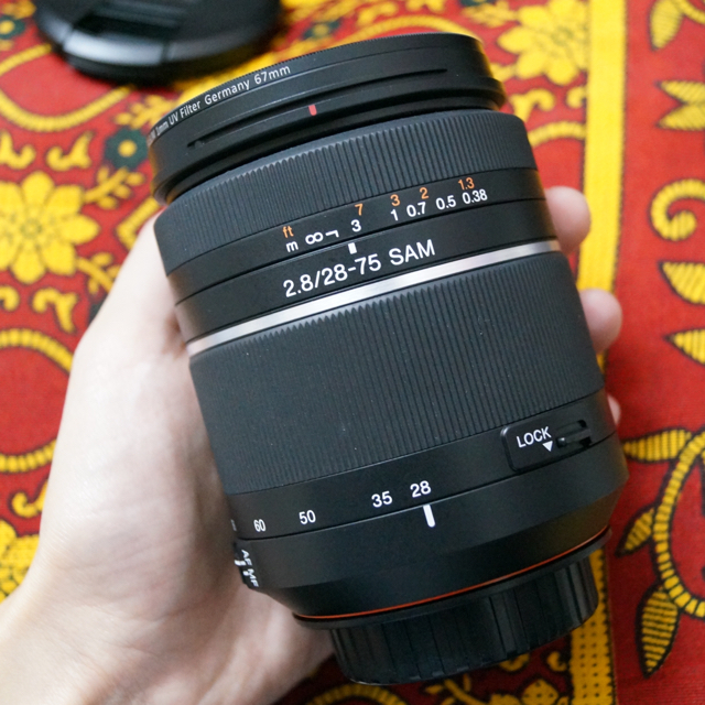 Sony 28-75mm f/2.8 SAM lens for Sony A MOUNT CAMERA image