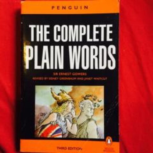 The Complete Plain Words  image