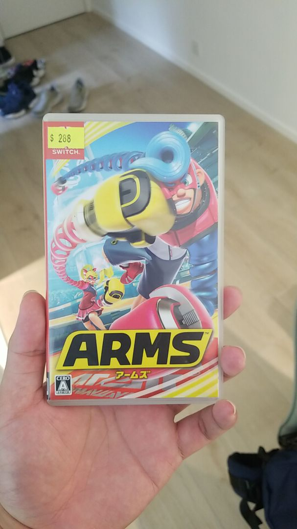 switch game arms image