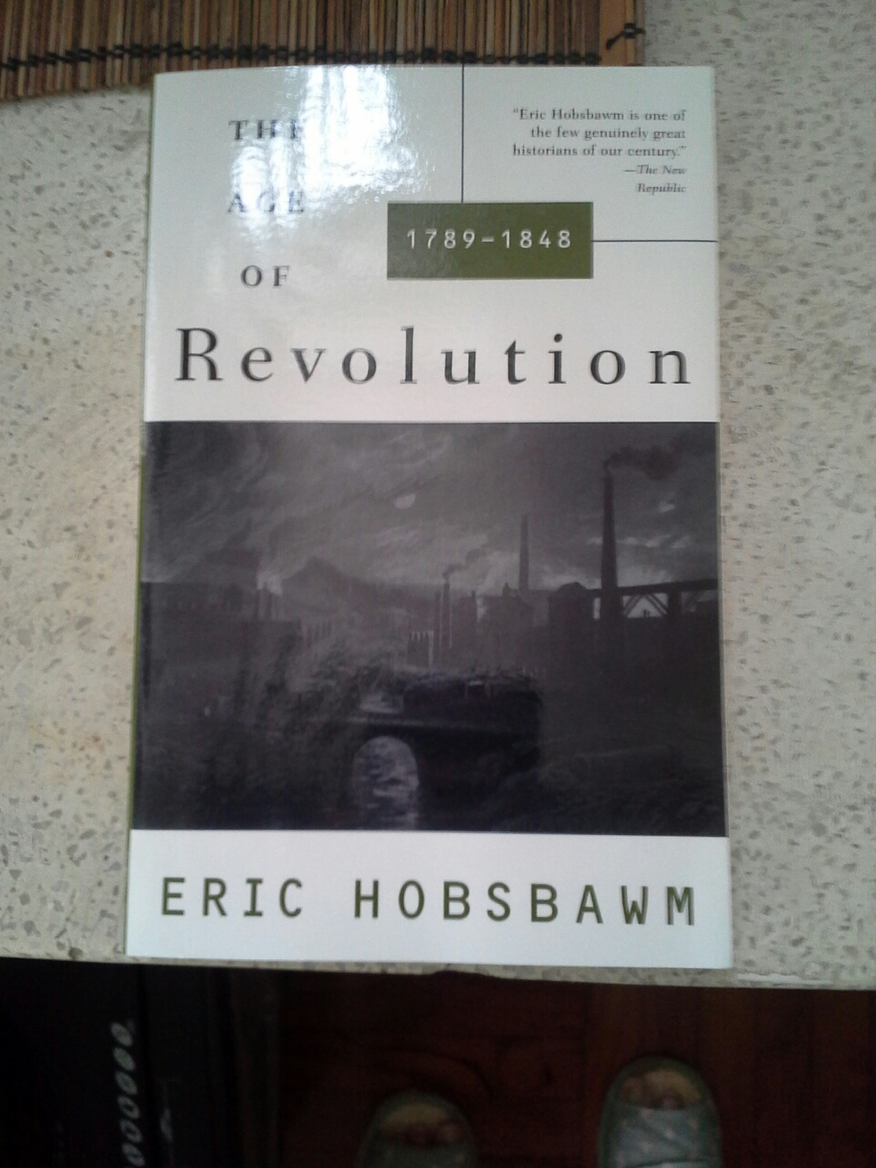 The Age of Revolution 1789-1848 by Eric Hobsbawm image