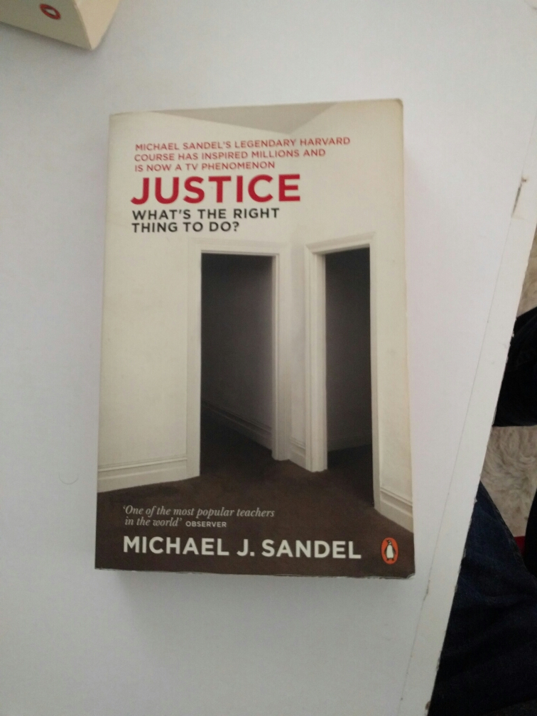 Justice, what's the right thing to do? image