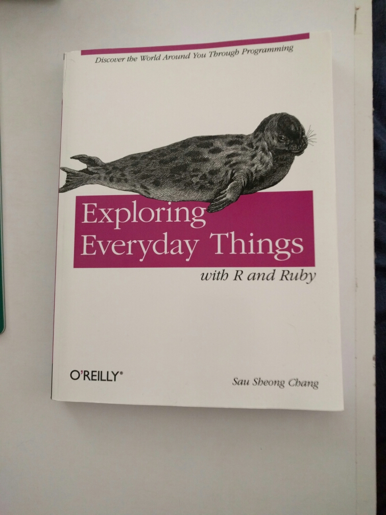 Exploring everyday things, with R and Ruby image