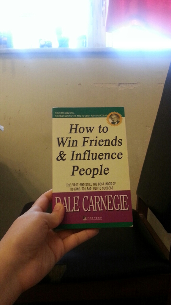 How to win friends & influence people - Dale Carnegie image