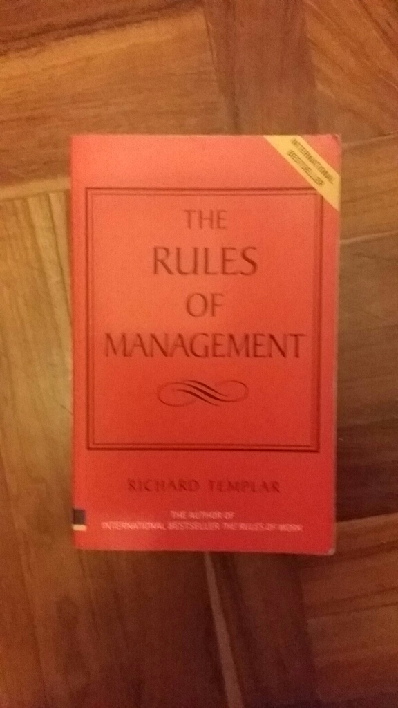 The rules of management image