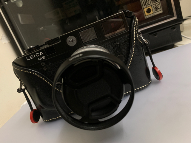 Leica m6 non ttl with zeiss 50mm f2 image